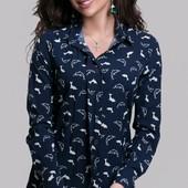 Размер 42-48 Женская блуза весна-лето