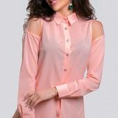 Размеры 42-48 Шифоновая женская блуза