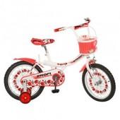 Детский двухколесный велосипед 16 дюймов 16BX406UK