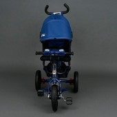 NEW 2017! Детский трехколесный велосипед Best trike синий