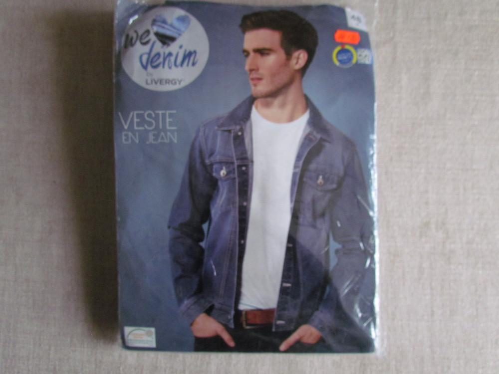 Джинсовая мужская куртка с Германии 48 фото №1