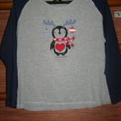 Реглан хлопковый пижамный, женский, размер М
