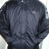 Фирменная спортивная курточка оригинал зима -осень adidas