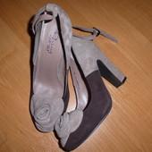 Замшевые туфли Respect 36 р-р