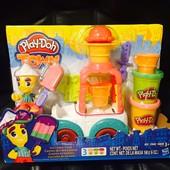 """Плей-Дох игровой набор пластилина """"Город: грузовик мороженого"""" Play-Doh (B3417)"""