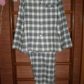 Пижама мужская, размер L,фланелевая,Marks&Spencer состояние  новой