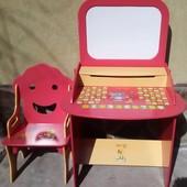 Парта детская Bambi стол со стульчиком и магнитной доской + подарок