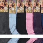 Носки женские х/б с сеткой Дукат, 36-40 размер, короткие, ассорти