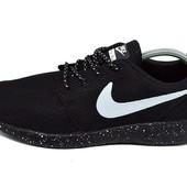 Кроссовки женские Nike Roshe Run Q9 Galaxy черные