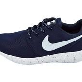 Кроссовки женские Nike Roshe Run Q9 Galaxy синие