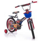 Детский двухколесный велосипед Mustang Pilot Тачки 12 дюймов колеса