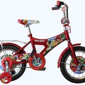 Детский велосипед Mustang Angry Bird (12-дюймов), красный