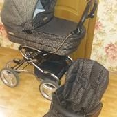 Продаю португальскую коляску Bebecar Stylo AT 2 в 1 зима-лето торг