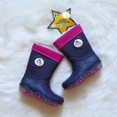 Новые резиновые сапоги для девочки. Lupilu. Размер 28-29