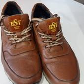 Кожаные спортивные ботинки 42р