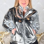 Размеры 48-54 Стильная женская куртка весна 2017