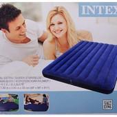 Надувной матрас Intex 68755 интекс(203 х 183 х 22 см )