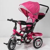 Детский трехколесный велосипед Аналог (ardis maxi trike) TR16001, розовый