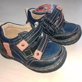 Кожанные туфли 21 розмера