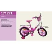 Детский 2-х колесный велосипед 12 дюймов  171221