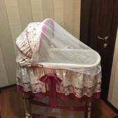 Продаётся Детская кроватка-колыбелька