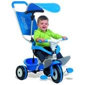 Велосипед трехколесный Baby Balade синий Smoby 444208 в нетоварной упаковке