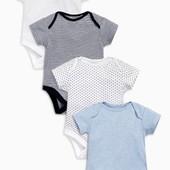 17-5 Детский боди / Англия Next / Боди для малышей / детская одежда / дитячий одяг