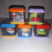 Сенсорные кубики Fisher Price
