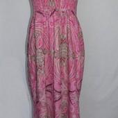 Сарафан в пол, Отличное сост. длинный, макси, впол, орнамент, платье, длинное, огурцы, огурец
