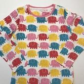 Футболка для сна с длинным рукавом Mothercare 7-8 лет,пижама, новая