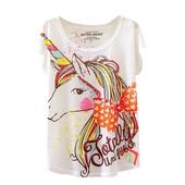 7-36 Женская Футболка Принт Cute Unicorn