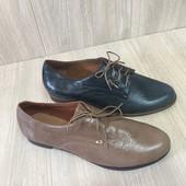 Туфли женские кожаные 41р.-27см.