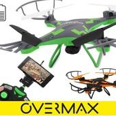 Квадрокоптер дрон OvermaxBee Drone 6.1 cam fpv wifi