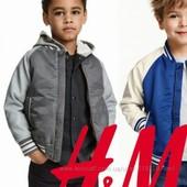 Куртка деми H&M 7-8 лет отл сост