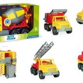 Машинки Wader серии City Truck 5 моделей, арт. 32600