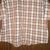 Рубашка большого р.xxl,Casual-бедровка,не ношена