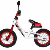 """Детский беговел (велобег) Azimut Balance New Air 12"""" красный"""