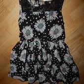 Matalan стильное платье на девочку 7 лет