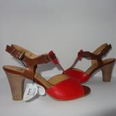 Натуральные босоножки на каблуке, ТМ Caprice - Германия, возможна примерка