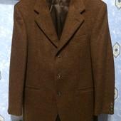 пиджак 48 р 100% шерсть ягнёнка (Италия)