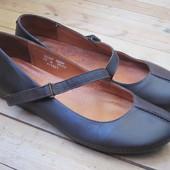 Туфли балетки Next, кожа, разм 42 или Uk 8, стелька 27,7 см