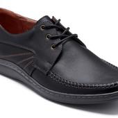2 цвета Новинка стильные кожаные туфли код: Б Модель:  035с