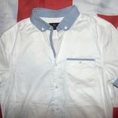 Стильная фирменная брендовая рубашка шведка Next (Некст).м