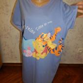 BHS ночнушка, домашнее платьеце р20-22 большой размер