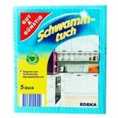Мочалки - салфетки Gut & Günstig Schwamm-tuch 5 шт Германия