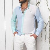 Мужские шорты белые