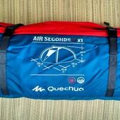 Quechua Arpenaz air seconds 2XL - двухместная палатка XL с тамбуром