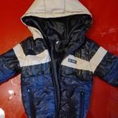 Демисезонная легкая куртка, состояние отличное