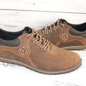 Мужские кожаные туфли, цвет олива