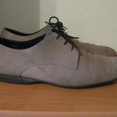 туфли шикарные замшевые Paul Smith Англия р.43
